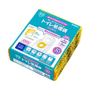 【総合サービス】 トイレ処理袋 ワンズケア (30枚入) YS-290 防災 災害 介護 ポータブル...