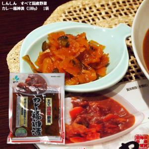 しんしん すべて国産野菜のカレー福神漬 110g 鉄腕DASH 鉄腕 ダッシュ DASH|kaigunsan