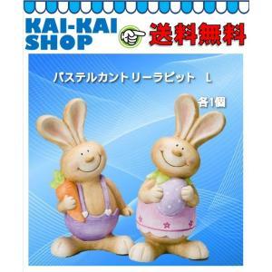 パステルカントリーラビットL 2種×1個 【2個セット】 エイチツーオー|kaikai-shop