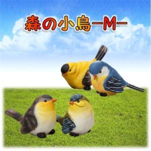 森の小鳥M 【4種アソート】 オブジェ・オーナメント・置物 エイチツーオー|kaikai-shop