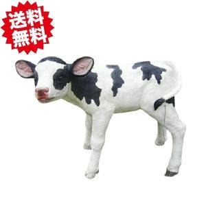入荷致しました。 うしさん(子牛) ビッグサイズ 高さ約41cm ポリレジン製|kaikai-shop
