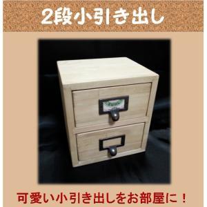 TOM木製ナチュラル 2段ミニチェスト 愛媛県産木材使用(メーカーA商品1万以上で送料無料)|kaikai-shop