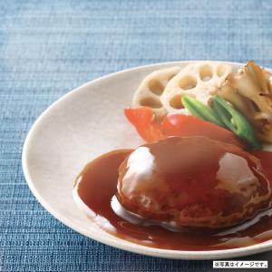 煮込み ハンバーグ てりやきソース 1人前 190g 神戸開花亭 レトルト ポイント消化 のし・包装不可|kaikatei