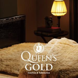 Queen's GOLD(クイーンズゴールド) 掛け毛布 ダブル kaimin-hakase