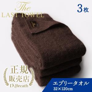 THE LAST TOWEL ザ・ラストタオル エブリー 3枚セット ブラウン