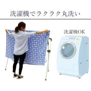 今治ガーゼケット 4重ガーゼケット シングル ブルー 吸汗速乾 洗える クールマックス 日本製|kaiminclub|12