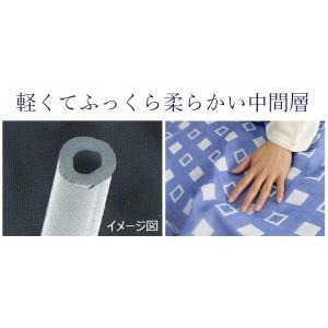 今治ガーゼケット 4重ガーゼケット シングル ブルー 吸汗速乾 洗える クールマックス 日本製|kaiminclub|07