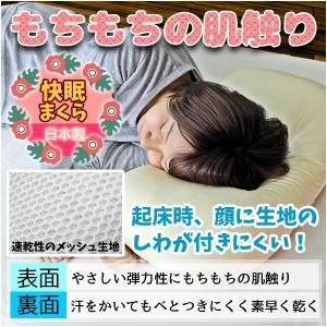 枕 まくら 43×63 もちもち感 女性向け オールシーズン パイプ ポリエステル 高さ調節 洗える リバーシブルピロー 日本製|kaiminclub