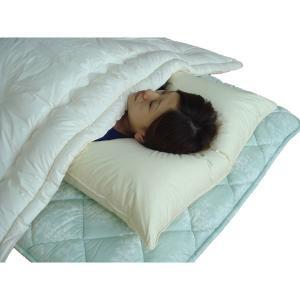 枕 まくら 43×63 羽毛 ダウンピロー 洗える ふっくら ふかふか 羽毛枕 日本製|kaiminclub