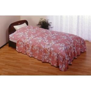 掛け布団カバー ダブル フリル付き ベッド用 柄お任せ 洗える 綿100% 掛布団カバー 日本製|kaiminclub