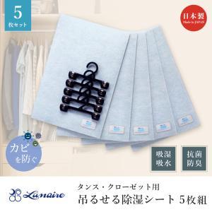 除湿マット シート 30×45 5枚組 ベルオアシス 湿気対策 タンス クローゼット用 ハンガー付き 湿気を吸収するマット 日本製|kaiminclub