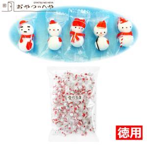 クリスマス 雪だるま チョコレートボール 500g 約150個入り スノーマン チョコボール|kaimonojouzu