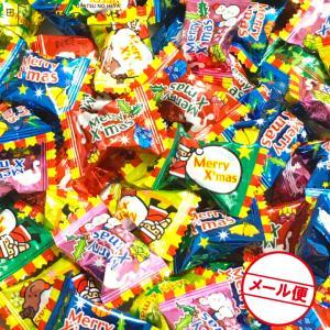 クリスマス キャンディ 400g(約100粒)  フルーツ味 クリックポスト(代引不可) マスカット りんご レモン|kaimonojouzu