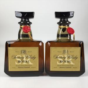 【ランク】AB 【銘柄】サントリー ローヤル SR 2本セット 【種別】国産ウイスキー 【内容量】7...