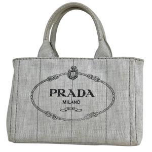 プラダ PRADA カナパ トート トートバッグ デニム レディース 【中古】 PB11