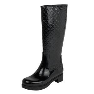 ルイ・ヴィトン Louis Vuitton スプラッシュライン レインブーツ 長靴 モノグラム ヴェ...