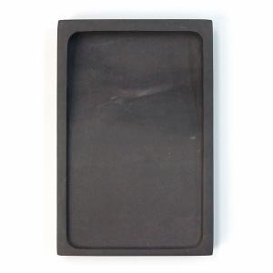 端渓 麻子坑 長方淌池硯 5吋 書道用品 硯石 送料無料|kaiseidou