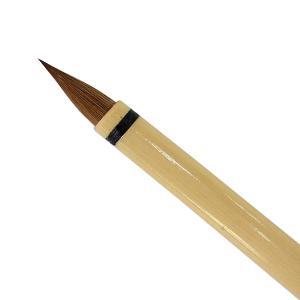 特製 写経用筆 (小) 6.0mm×18mm いたち毛 細筆 「鼬 小筆 写経 細字 書道用品 書道筆 魁盛堂筆」|kaiseidou