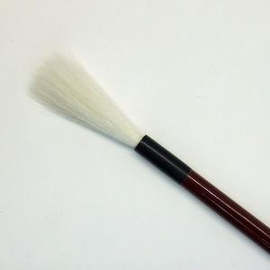 書道筆 細筆 風流 5.0mm×45mm 9号 かな筆 小筆 細光鋒 羊毛 書道用品 魁盛堂筆