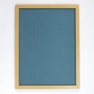 半懐紙額 ナチュラル 青|kaiseidou
