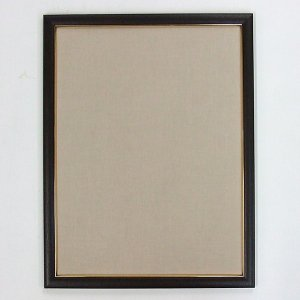 半懐紙額 ダークブラウン 薄ベージュ|kaiseidou