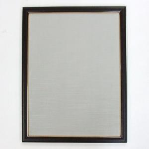 半懐紙額 ダークブラウン 薄グレー|kaiseidou