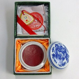 印泥 西冷印社 美麗1/2両|kaiseidou