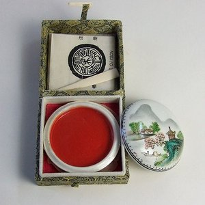 印泥 西冷印社 珍品一両|kaiseidou