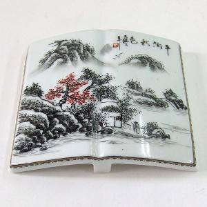 景徳鎮 山水墨床|kaiseidou