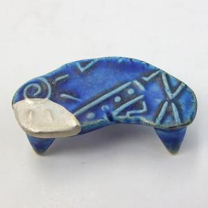 陶器の墨床 E 兼宗窯 加藤陽児作|kaiseidou
