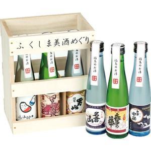 父の日 プレゼント 日本酒 飲み比べセット ふくしま美酒めぐり 桐箱6本入セット 180ml×6本 0055162|kaiseiya|04
