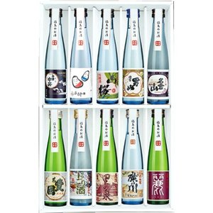 お中元 プレゼント 日本酒 飲み比べセット ふくしま美酒めぐり化粧箱入り10本セット 180ml×10本 0055161|kaiseiya|05