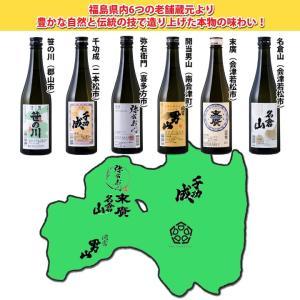 日本酒 飲み比べセット 今宵一献!福島の地酒6本セット 500ml×6本|kaiseiya|02