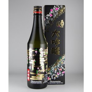 奥の松 大吟醸 さくらラベル 720ml|kaiseiya