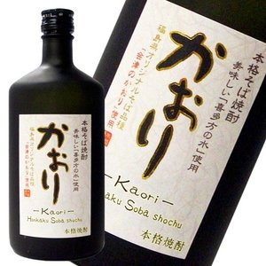 本格そば焼酎 かおり 25度 720ml|kaiseiya