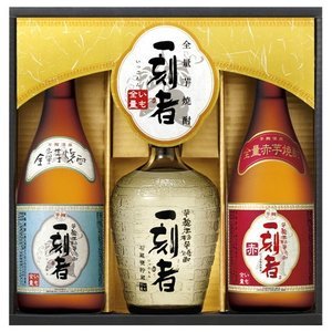 宝酒造 全量芋焼酎「一刻者」3種飲みくらべセット ZI-SN 720ml×3本|kaiseiya