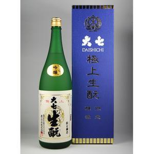大七 吟醸酒 極上生もと限定醸造 1.8L|kaiseiya
