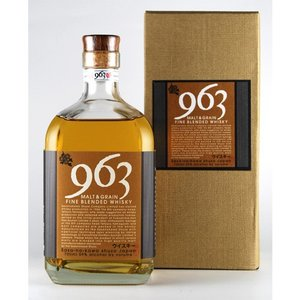 ブレンデッドウイスキー963 [963 MALT&GRAIN FINE BLENDED WHISKY] 700ml|kaiseiya