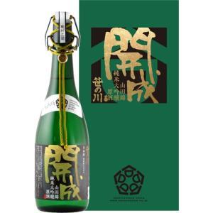 笹の川 純米大吟醸原酒 開成 720ml|kaiseiya
