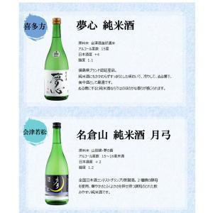 日本酒 飲み比べセット 福島純米酒めぐり飲み比べ6本セット 720ml×6本 kaiseiya 02