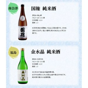 日本酒 飲み比べセット 福島純米酒めぐり飲み比べ6本セット 720ml×6本 kaiseiya 03