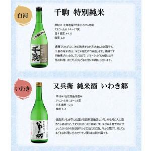 日本酒 飲み比べセット 福島純米酒めぐり飲み比べ6本セット 720ml×6本 kaiseiya 04