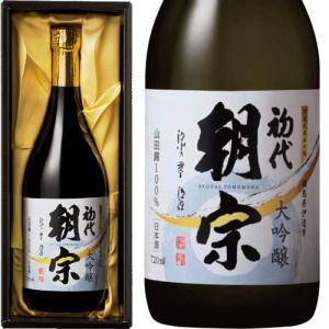 伊達の酒 初代朝宗 大吟醸 720ml|kaiseiya