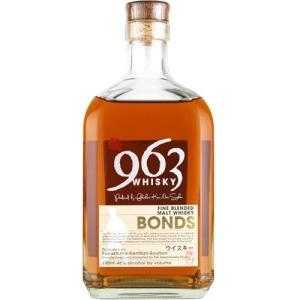 ブレンデッドモルトウイスキー963 ボンズ FINE BLENDED MALT WHISKY 963 BONDS 700ml 46度|kaiseiya