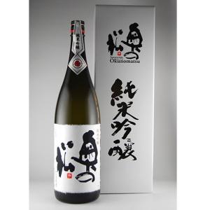 奥の松 純米吟醸 1.8L 化粧箱入り|kaiseiya