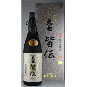 大七 生もと 純米吟醸酒 皆伝 1.8L|kaiseiya