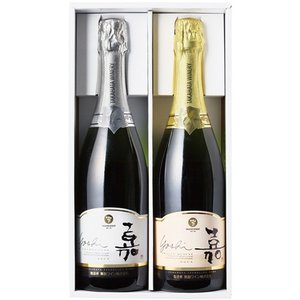 高畠 嘉 スパークリングワインセット 750ml×2本 YTWS|kaiseiya