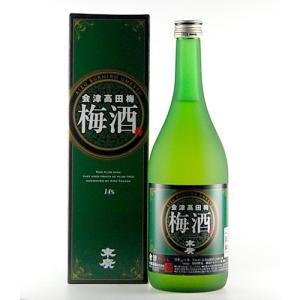 末廣 会津高田梅 梅酒 720ml|kaiseiya