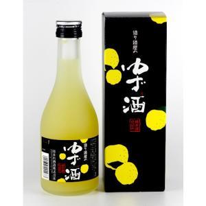 会津ほまれ 造り酒屋のゆず酒 純米酒仕込み 300ml|kaiseiya