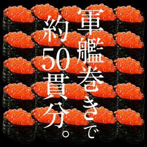 いくら 衝撃50%OFFセール! 鱒 イクラ 醤油漬け 500g 小粒 北海道加工|kaisenichibashioso|06